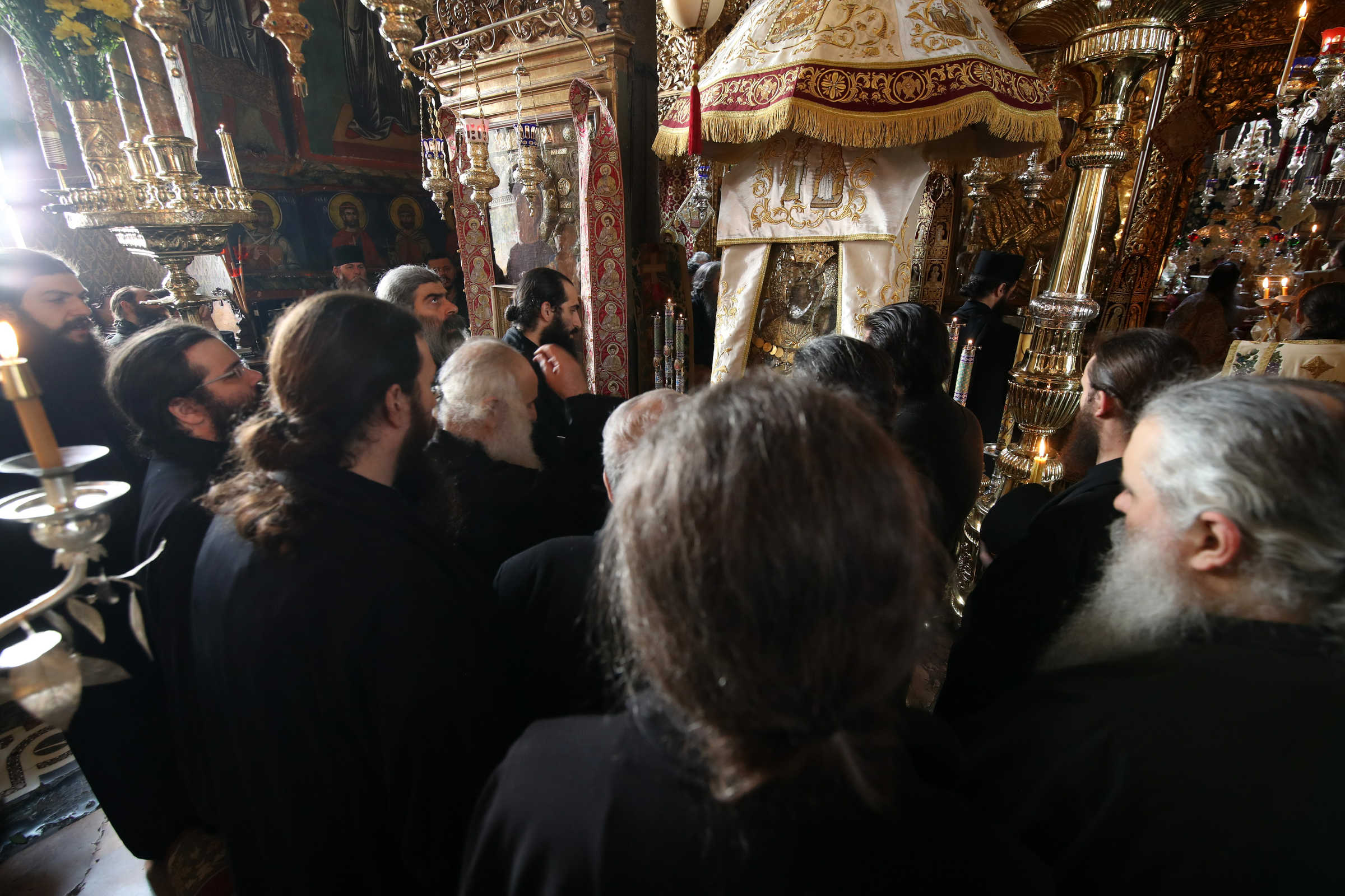 The silence of the children - Photo journal from Announciation (Great Saturday) - Part 2: The Liturgy