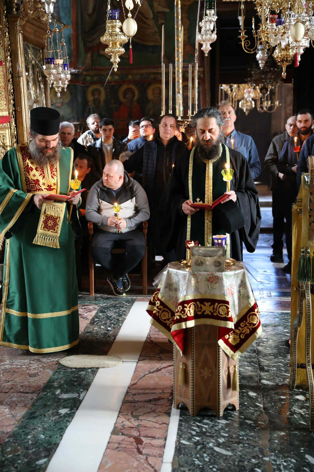 The mystery of the Holy Unction: miracles